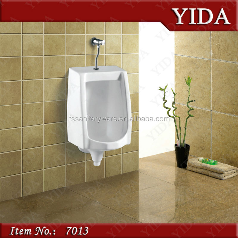 Public Toilet Urinal Sanitary Ware Ceramic Wall Hung Male Bowl