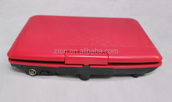 9.8inch portable dvd player