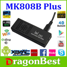 Mini PC Bluetooth 4.0 Android 4.4 TV Stick XBMC Miracast/DLNA Amlogic M805 1GB 8GB MK808B Plus FULL HD Quad Core TV Dongle