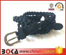 Hand-made braided belt for dress decoration