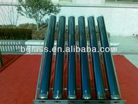Factory produce 3.3 high borosilicate glass evacuated tubes of solar collector