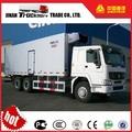 china 6x4 howo sinotruk de enfriamiento del refrigerador van para la venta