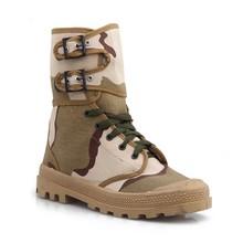 Military desert Camo zipper boot/cheap tactical desert boot/Desert Coyote Military Boot