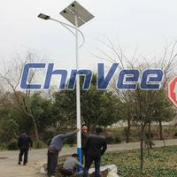 sunpower solar panel street lamps high power street light waterproof with CE ROHS