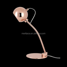 European style copper table lamp drawing