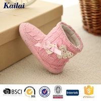 antique hand knit baby shoe for sale