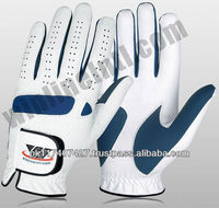 letest design golf gloves 2014 / custom logo and design manufacturer