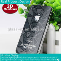 Wholesale Beautiful Design Electrostatic Adsoption 3D Mobile Phone Screen Protector Without Any Glue For I phone 4/4s(Factory)