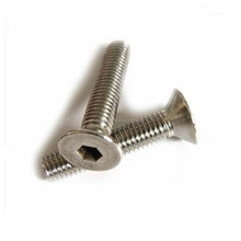 DIN7991 gr2 gr5 titanium screw hexagon socket countersunk head screws