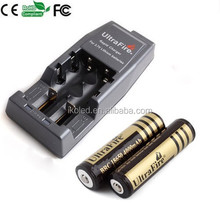 2015 china supplier Ultrafire WF-139 rechargerable battery Charger + 2x 18650 4000 3.7v battery