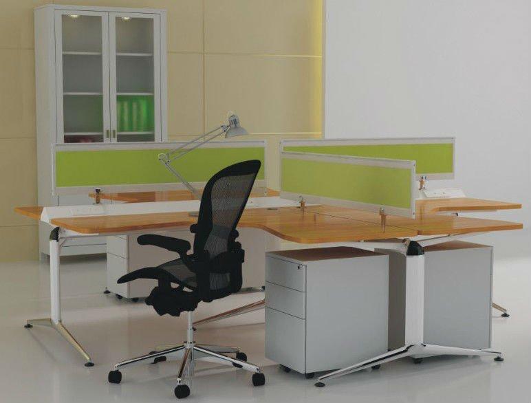 bureau poste de travail conception bureau cabine moderne poste de travail avec cran de. Black Bedroom Furniture Sets. Home Design Ideas