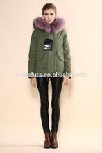 chica hermoso abrigo de piel de chaquetas para la venta de estilo elegent