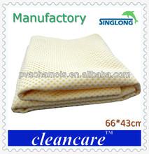 super absorção toalha de tecido sintético toalha de pva camurça pano