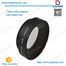 2015 Best Quality Products Universal Clip Lens With 72mm 0.8X Fisheye Lens Wide Angle Lens Macro Lens Camera Lens