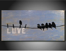 2015 New products modern abstract animal painting
