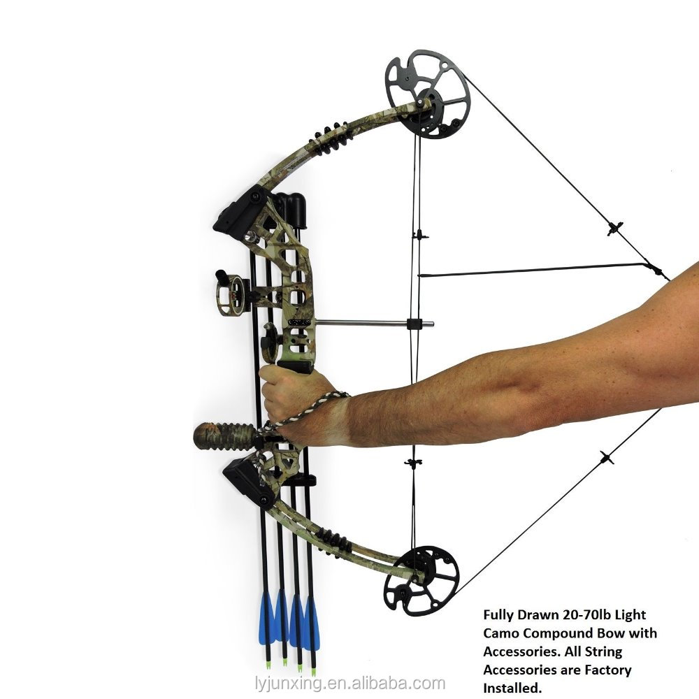 New 20 70lb compound bow and arrow adjustable hunting for Compound bow fishing