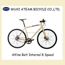 2015 Alfine Carbon Belt Drive 8 Speed 700C Internal Gear Hub Road Bike