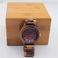 hot-selling wrist maple wooden watch men