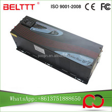 frequency converter 50hz to 60 automatic battery chargers 5000w Power frequency inverter single phase motor