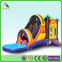 Kids toy inflatable slide castle water/ commercial grade bounce house