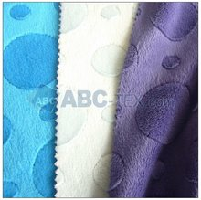 100% polyester embossed baby fabric HOT 2012
