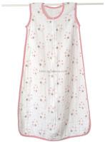 Hot Sales Muslin Kids Cotton Sleeping Bag
