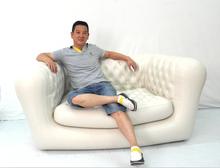 New model luxury inflatable sofa/luxury inflatable streamlined sofa