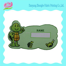 washable fabric name sticker