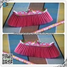 Household plastic indoor floor sweeping brush with watermark