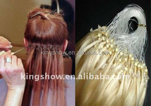 New Arrival Nano micro ring pure Remy human hair weft