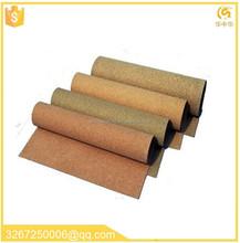 guarnizione in gomma sughero sughero guarnizione foglio vendita calda scarico foglio guarnizione