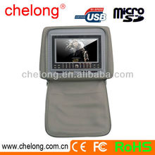 New arrived 7inch new panel Headrest Entertainment System car DVD player