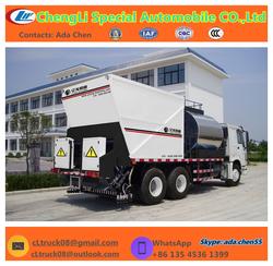 HOWO 6X4 asphalt driveway sealer Chipsealing Vehicle