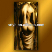 Hot sale order woman with sexy nude body people canvas painting