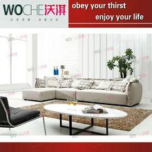 Modern Fabric Sectional Sofa Furniture Set Designs Living Room Furniture(WQ8802)