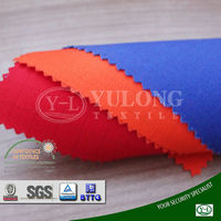 fluorescent FR fabric cotton conductive anti-static waterproof grid uniform fabric