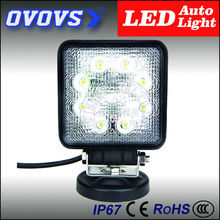 High quality super 4x4 off-road hid driving light 24w led work light