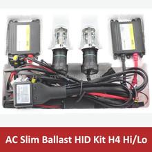 12V 35W slim ballast H4 hi lo hid kit