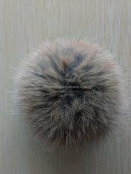 Fashion colorful for garment or handbag rabbit fur pom poms