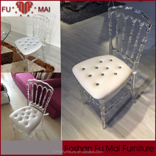 hotsale rental napoleon chair for wedding and party/Resin Wedding Napoleon Chair /crystal napoleon chair