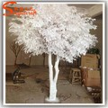 China fábrica venta al por mayor cubierta artificiales de madera blanco seco ramas de los árboles de coral árboles de la boda tunks para ornamento de la decoración