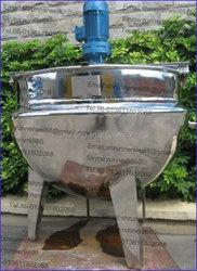 plastics electric kettle boiler stainless steel jacketed kettles screen printing inks resin machine