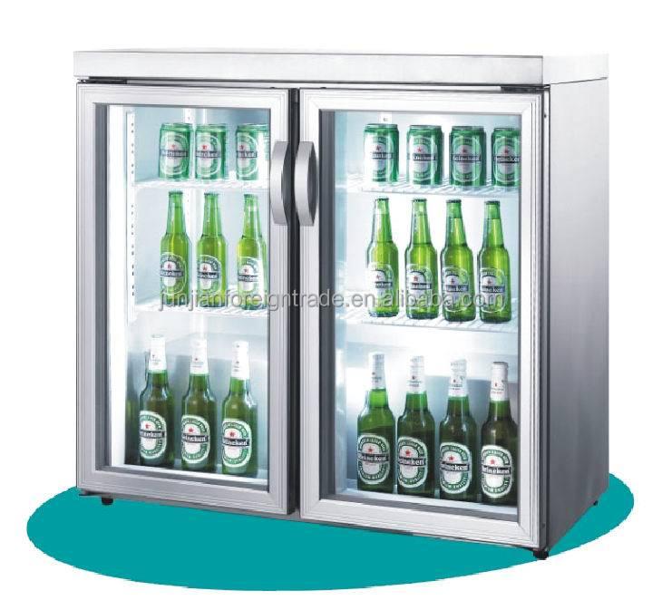 glass door mini refrigerator 1