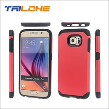 Hot Selling 2 in1 Protector mobile case for samsung galaxy s6