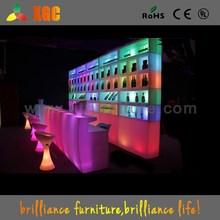 shenzhen rental led glow bar table rental illuminated serving bar