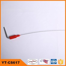 hexagonal plastic warpped cable seal