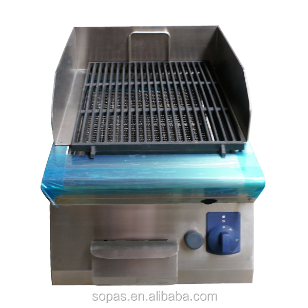 Soppas 700 Series Commercial Kitchen Equipment Lava Rock Gas Grill ...