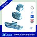 De aço da roda de chumbo( pb) clip sobre pesos de roda para o caminhão pesado
