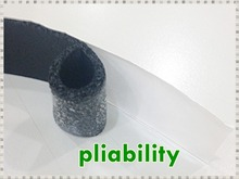 Taiwan made 3mm NBR black adhesive Foam sealing tape apply in air conditioner pipe wrapping, car, furniture