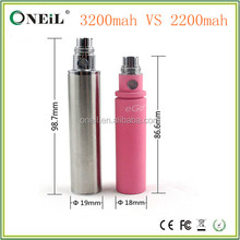 2015 Colorful ego 3200mAh battery VS ego 2200mah battery , 2200mah ego battery in stock
